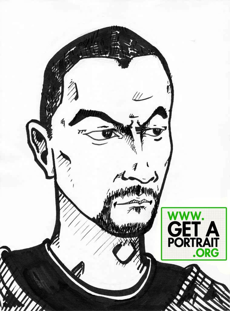 Portrait of Sebastian Bargau, Romanian blogger — Get a high quality PORTRAIT or CARICATURE from a pro, for an unbeatable price! http://GetAPortrait.org