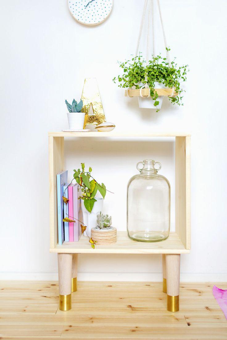 Fall For DIY Box Sideboard