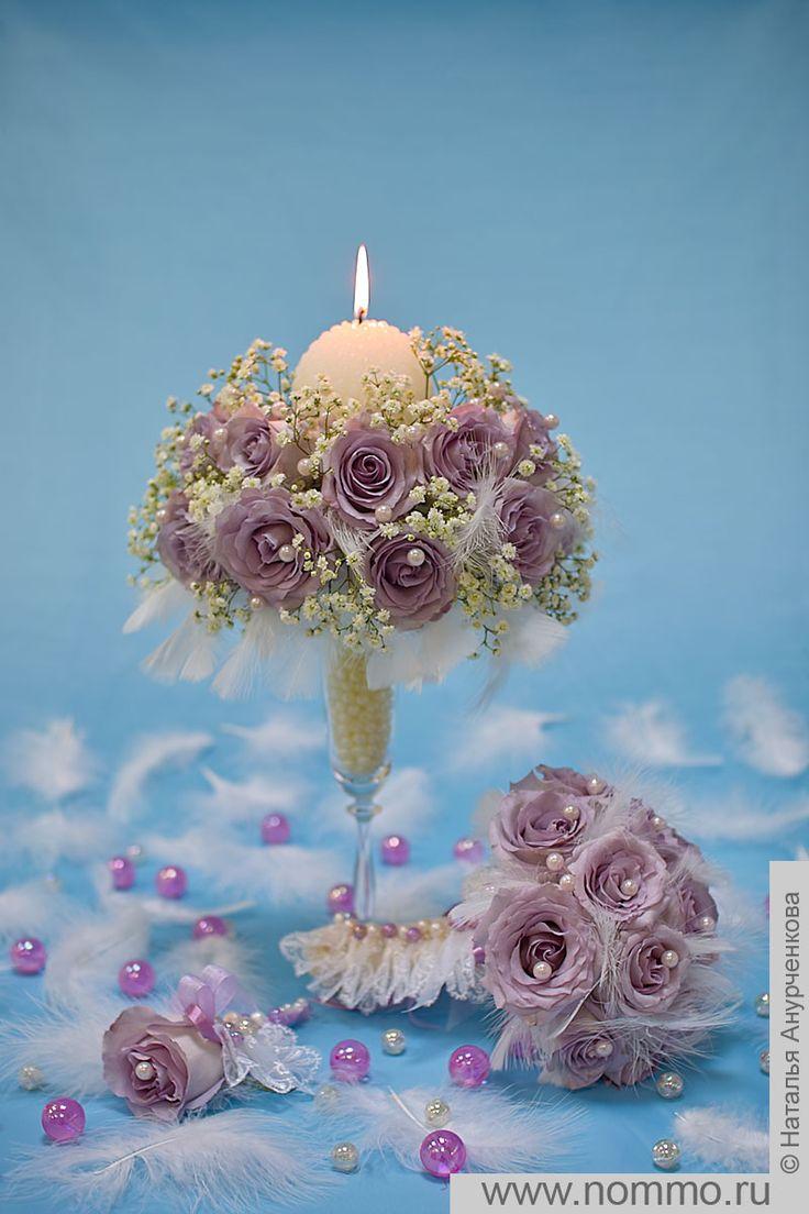 Цветок из бечевки своими руками