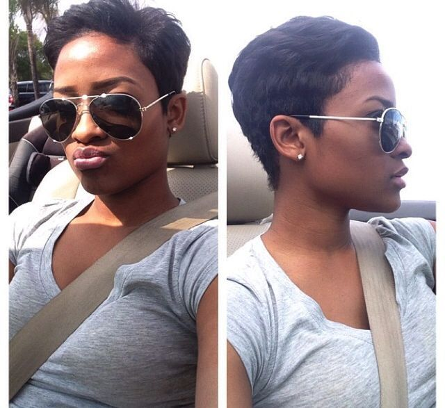 short relaxed hairstyles for black women