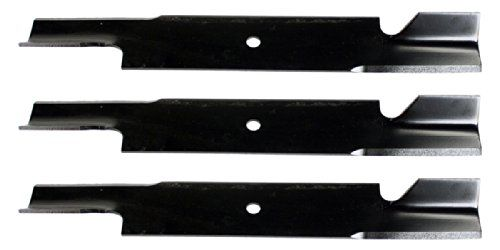 "3 USA Mower Blades for Encore 8230063, Gravely GDU10232, 61"" Deck  USA Mower Blades® replacement lawn mower blades.  Fits certain Bobcat, Bunton, Encore, Ferris, Giant Vac, Gravely, and Great Dane mowers.  Fits certain Husqvarna, Jacobsen, Kees, Lastec, Lesco, Scag, Snapper, and Wright Mfg. mowers.  Made in the USA.  Quantity: 3 Pack"