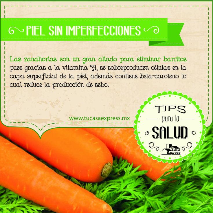 La zanahoria será un aliado para cuidar tu piel. #TipsExpress