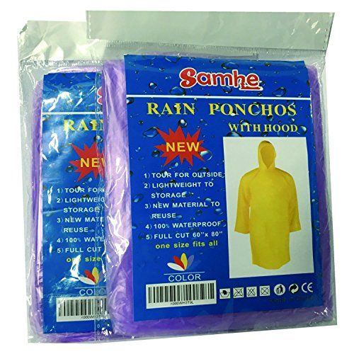 Disposable Rain Poncho One Size Fit All with Hood 10 Per ... https://www.amazon.co.uk/dp/B01MTSMBEX/ref=cm_sw_r_pi_dp_x_az6RybTD4PGV5