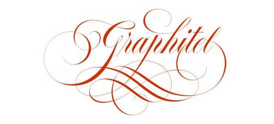 Stylish calligraphy logos art of writing logo