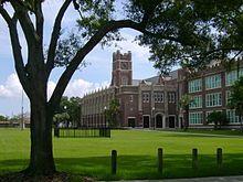 Hillsborough High School.  Seminole Heights, Tampa