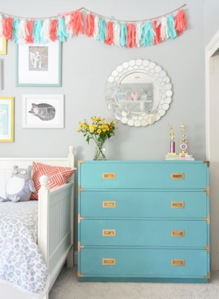 Turquoise Campaign Dresser | Centsational Girl