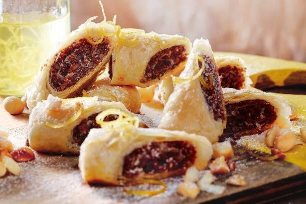 A new take on traditional Middle Eastern baklava using local macadamias.