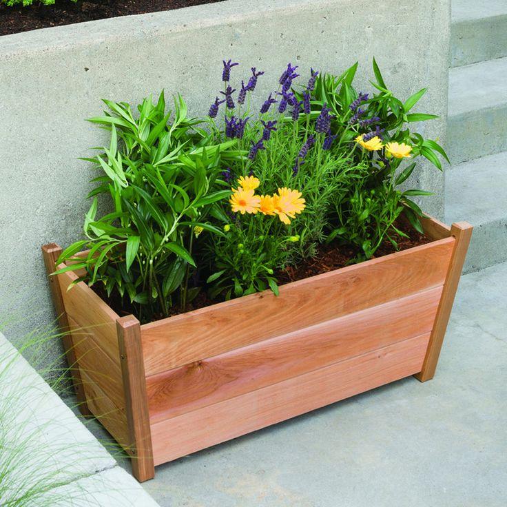 Outdoor Flowers For Sale Part - 44: Rectangle Planter Garden Planter Flower Pot Yard Planters Outdoor Flowers |  Ebay Stuff For Sale | Pinterest | Gardens, Garden Planters And Pots