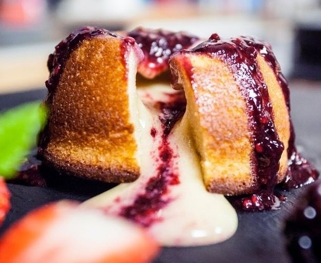 15 Molten Lava Cakes You Could Fall Hard For: White Chocolate Lava Cake