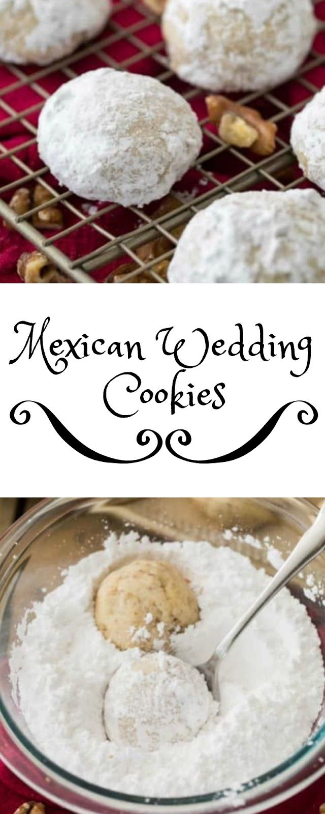 Mexican Wedding Cookies christmas cookies holidays