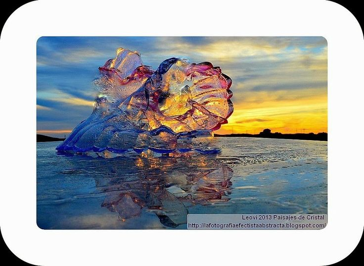 La Fotografía Efectista Abstracta. Fotos Abstractas. Abstract  Photos.: Abstract Photo 2959 Crystal Landscape 132  The dan...