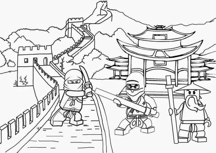 Lego House Coloring Pages Designs Collections