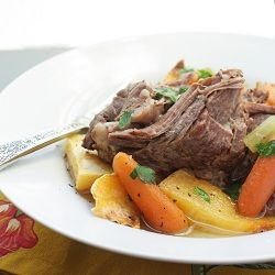 Easy Paleo Pot Roast. This is soooooo good every time I make it! Great for leftovers too.