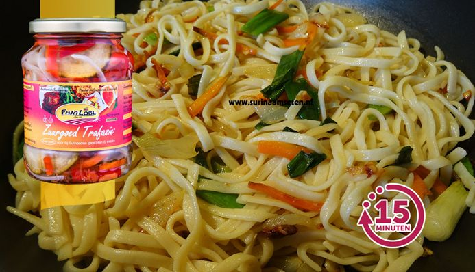 Surinaams eten – Chinese bami (authentieke bami van Chinees restaurant)