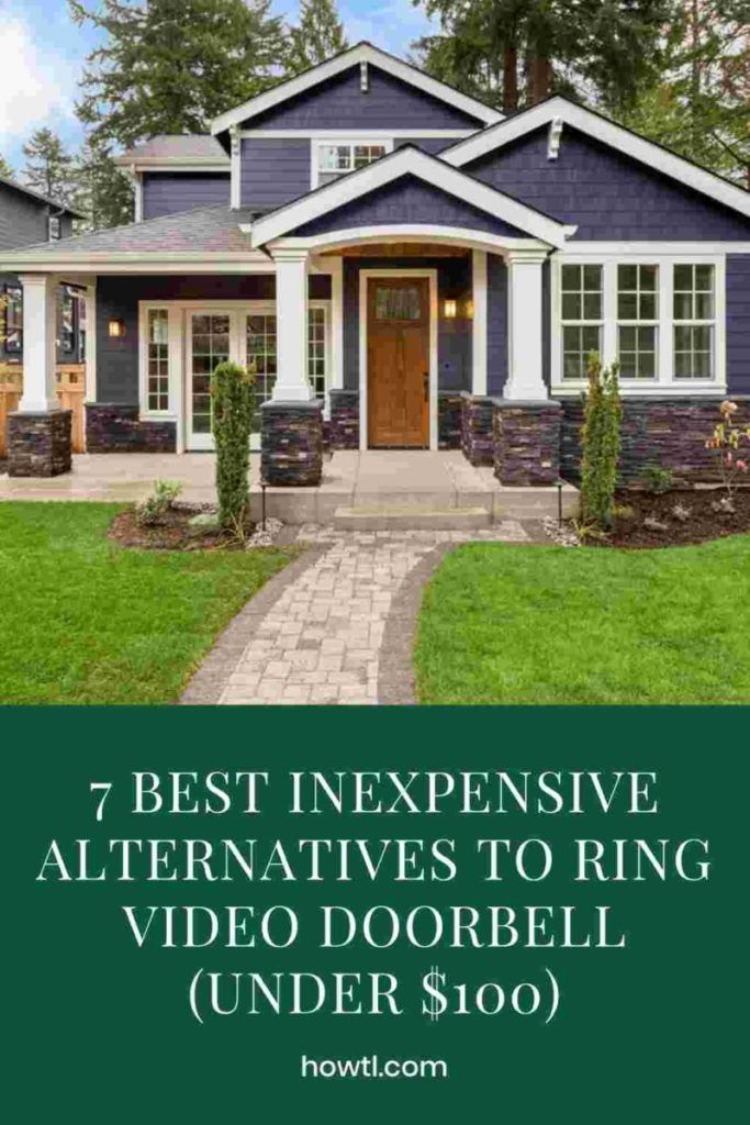 7 Best Inexpensive Alternatives To Ring Video Doorbell Under 100 In 2020 Ring Video Doorbell Video Doorbell Ring Doorbell