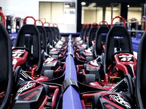 NASKART RACING Montville, CT. Multikevel Indoor racing track