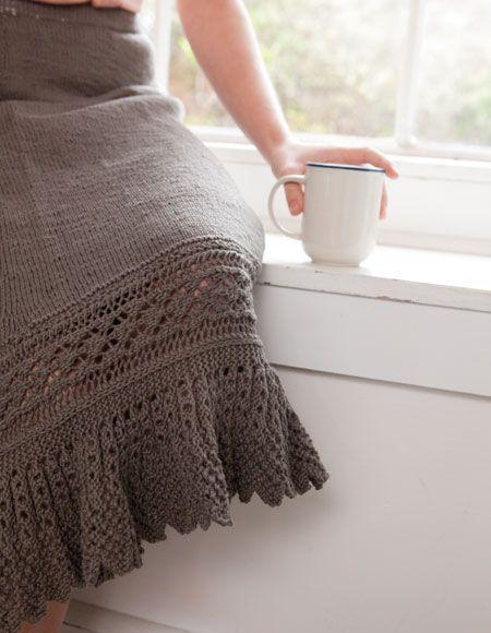 Junonia Skirt Pattern - Knitting Patterns and Crochet Patterns from KnitPicks.com by Kerin Dimeler- Laurence On Sale