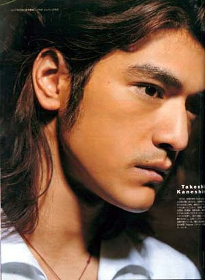 OMG people. Takeshi Kaneshiro. Love his look with the white shirt and thin gold chain. Biddy Craft