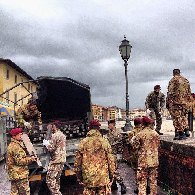 #Grazie ragazzi/e ! #militari #esercito #pisa