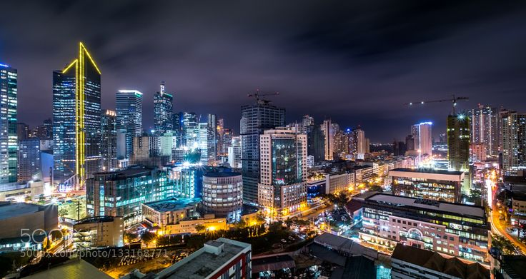 Makati City at Night! - Pinned by Mak Khalaf Here is another looks of Makati city. I process it to my taste give a little adjustment. City and Architecture Republic of the Philippinesarchitecturebuildingcitycityscapedarklightlightslong exposuremakatimakati citymanilametropolitannightphilippinesskylinestreeturbannighsscape by hendraxu