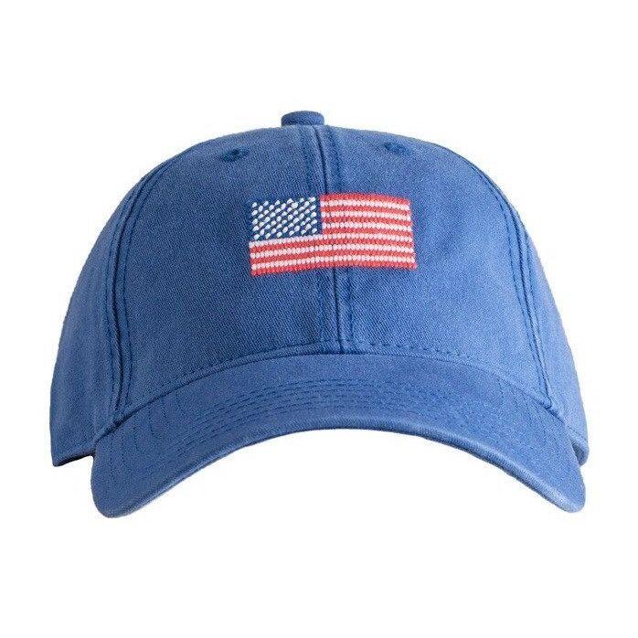 American Flag on Navy Hat