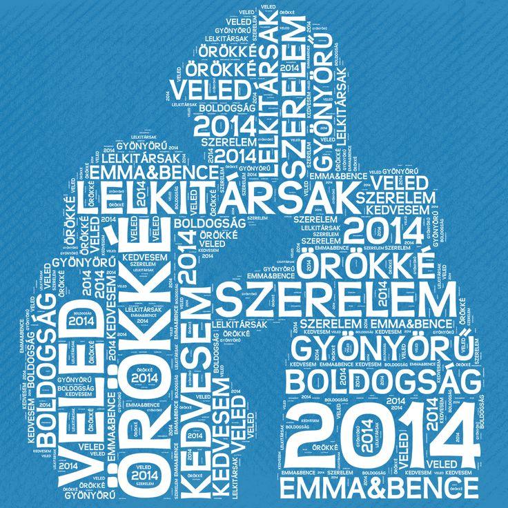 A TI Szavaitokból készül! :)(Valentin-napra, évfordulóra! Lehet vászonkép, vagy keretes kép is belőle! www.keparuhaz.hu