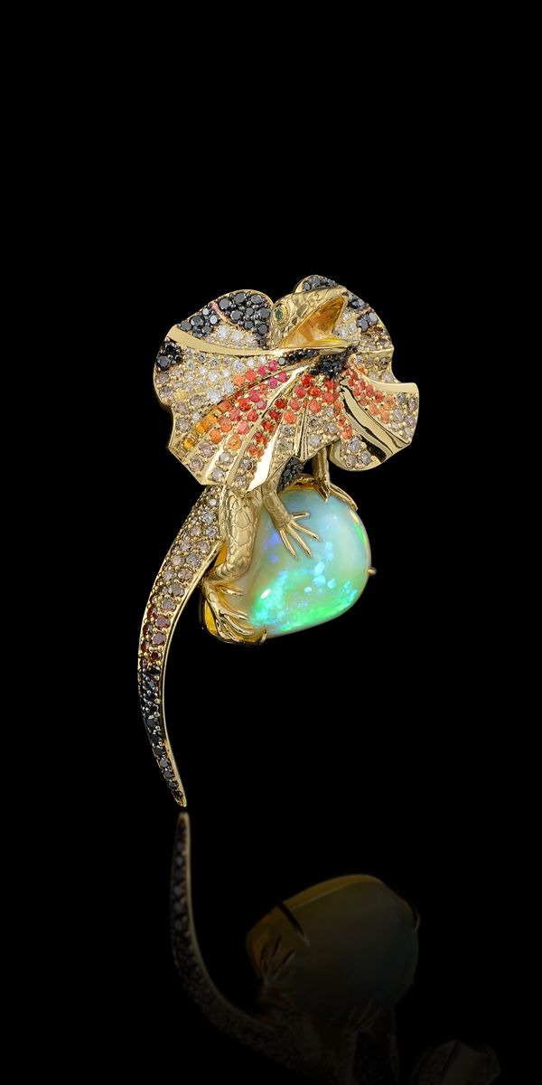 Master Exclusive Jewellery - Collection - Animal world #OpalJewelry #VonGiesbrechtJewels