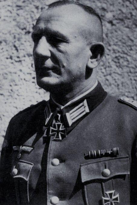 Major d.R. Richard Grünert (1899-1943), Kommandeur I./Panzergrenadier Regiment 7, Ritterkreuz 14.10.1941, Eichenlaub (244) 17.05.1943