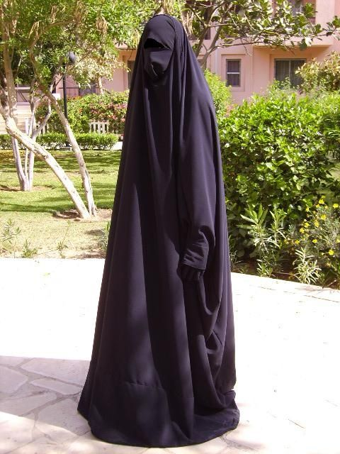 modesty- women are required to wear a black garment called an Abayah, to cover from public and it shows modesty.