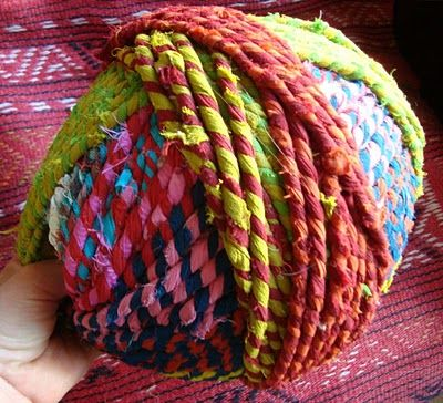 How to Make your own rag yarn - Google Search