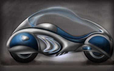 "Saatchi Online Artist Timuçin Tınmazsoy; Digital, ""Future Bike"" #art"