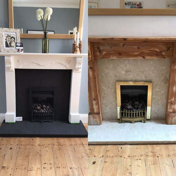 25+ best Fireplace makeovers ideas on Pinterest | Brick ...