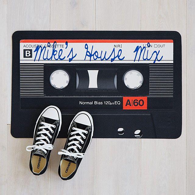 Personalized Mixtape Doormat