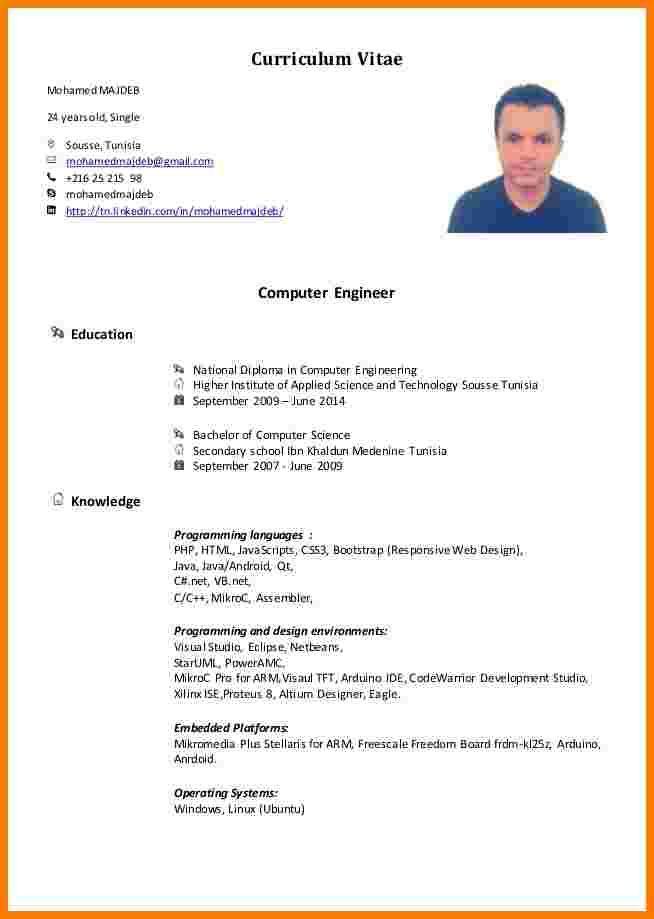 Cv Ingenieur Informatique Mohamed Majeb Cv Ingnieur Informatique Melange 1 638 Cb1416931901 5 Cv Ingenieur In Ingenieur Informatique Cv Ingenieur Informatique