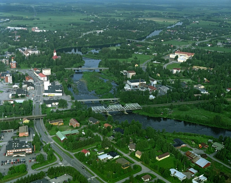 Ylivieska. One should know where you come from.