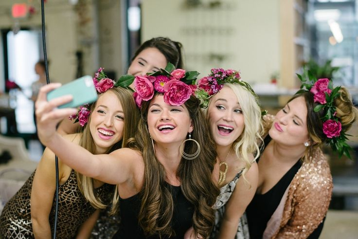 Bachelorette party selfie / Despedida de soltera / девичник / JGA / EVJF / Lánybúcsú