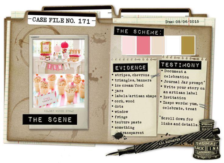 Case File No. 171 {Case closes on August 6, 2015} - CSI: Color, Stories, Inspiration