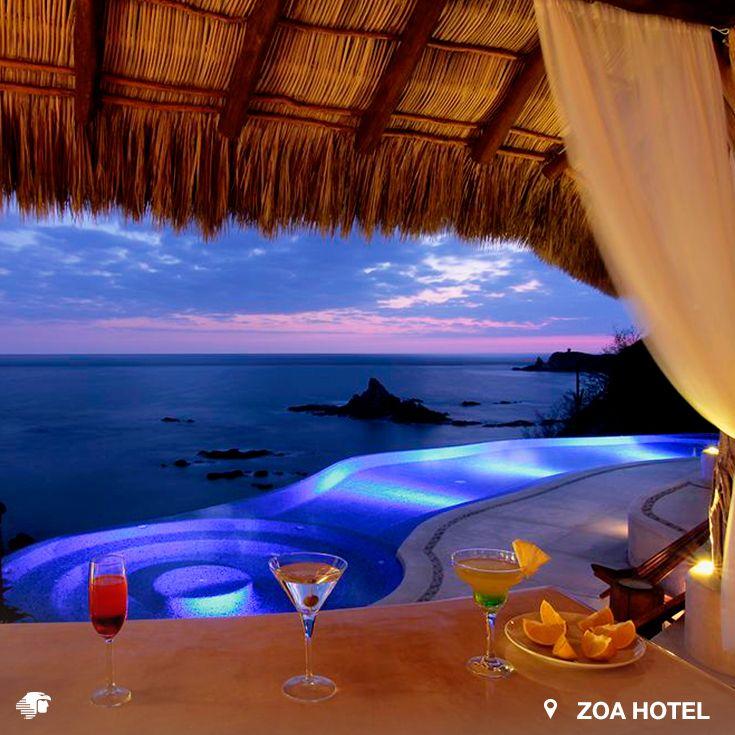 Mazunte, Oaxaca. México En este íntimo hotel podrás tener un descanso inigualable, ya que ¡brindan un servicio personalizado! El restaurante Amarte Mar ofrece un menú con platillos frescos, variados y deliciosos.