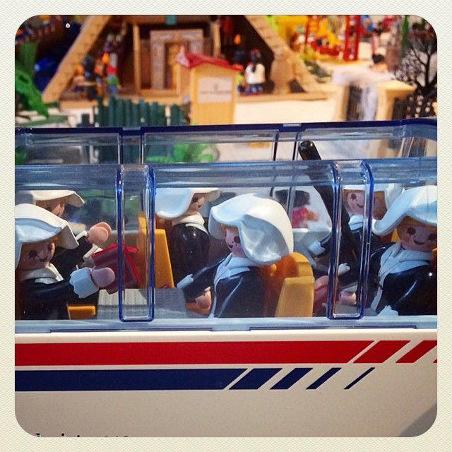 #montblancmedieval #clickània2014 #descobreixcatalunya #ig_toys #Playmobil #gaudeix_cat #sisteract #train #igerscatalonia #toyphotography #