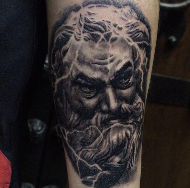Greek Mythology God Tattoo | tattoo's | Pinterest | Greek ...