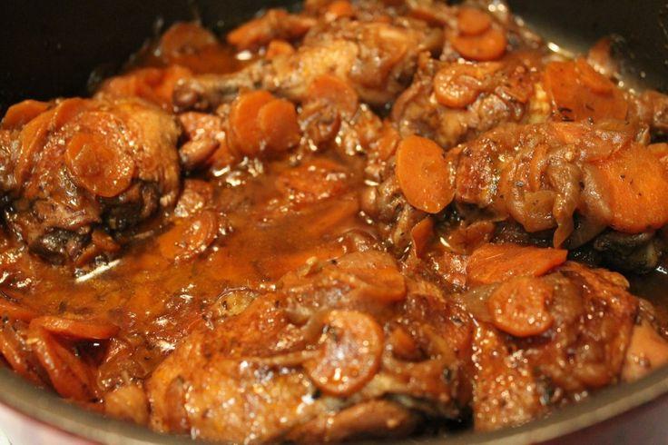 Brown Stewed Chicken