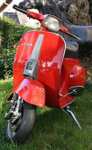 Vespa Farben RAL 3000 Feuerrot