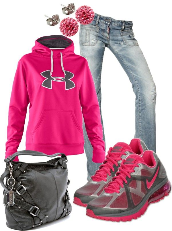 """Comfy Pink"" by sarah-jones-3 ❤ liked on Polyvore"