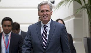 Rep. Kevin McCarthy Bows Out of Race for Speaker