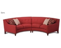 13 best images about curved sofas on pinterest leonardo for Semi classic sofa