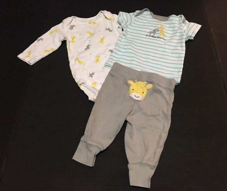 Cool Carters Baby Boys Clothes 3M Months - 3 Piece Bodysuit Set - Gray Giraffe 2017-2018 Check more at http://24myshop.tk/product/carters-baby-boys-clothes-3m-months-3-piece-bodysuit-set-gray-giraffe-2017-2018/