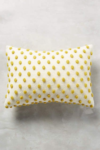 Throw Pillows Luxury : Woolen Pom Pillow Gliders, Anthropologie and Decorative throw pillows