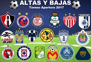 Blog de palma2mex : Altas y Bajas Futbol Mexicano
