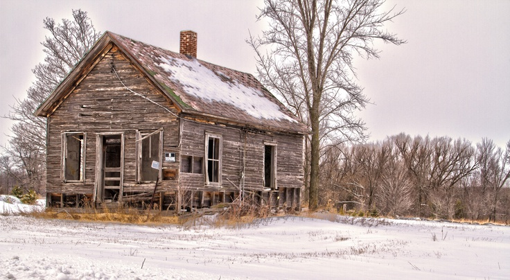 Old Farm House Outside Mosinee Wisconsin Photography