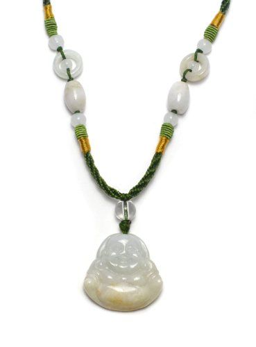 glücklicher Buddha Milchig-Weiß Jade Halskette, mit handg... https://www.amazon.de/dp/B00DD3ABGO/ref=cm_sw_r_pi_dp_x_KW.6xbTWYY0ZE